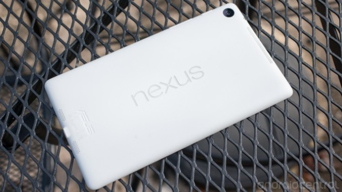 In Pictures: the white Nexus 7