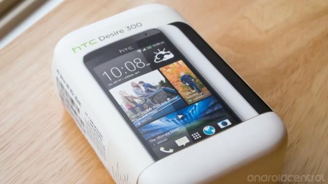 Hands on: HTC Desire 300
