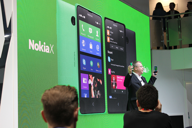 Nokia X, X , XL Android smartphones debut at MWC