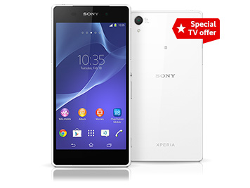 Vodafone promises first 3,000 Sony Xperia Z2 pre-orders will get 32-inch TV for free